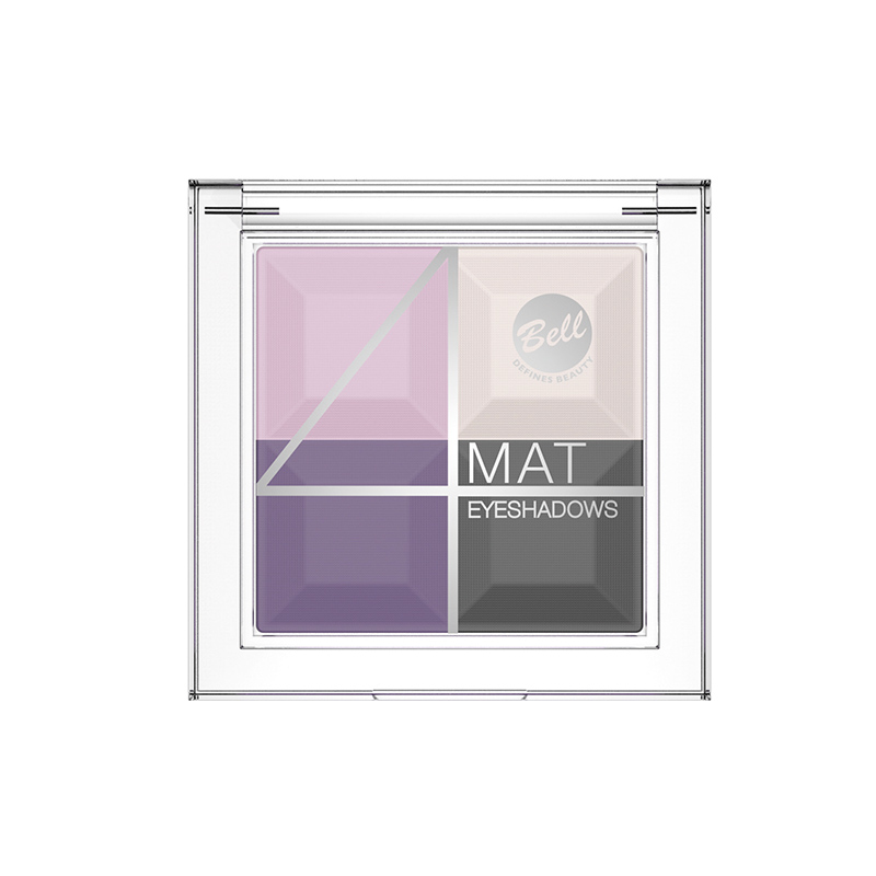 4 Mat Eyeshadows