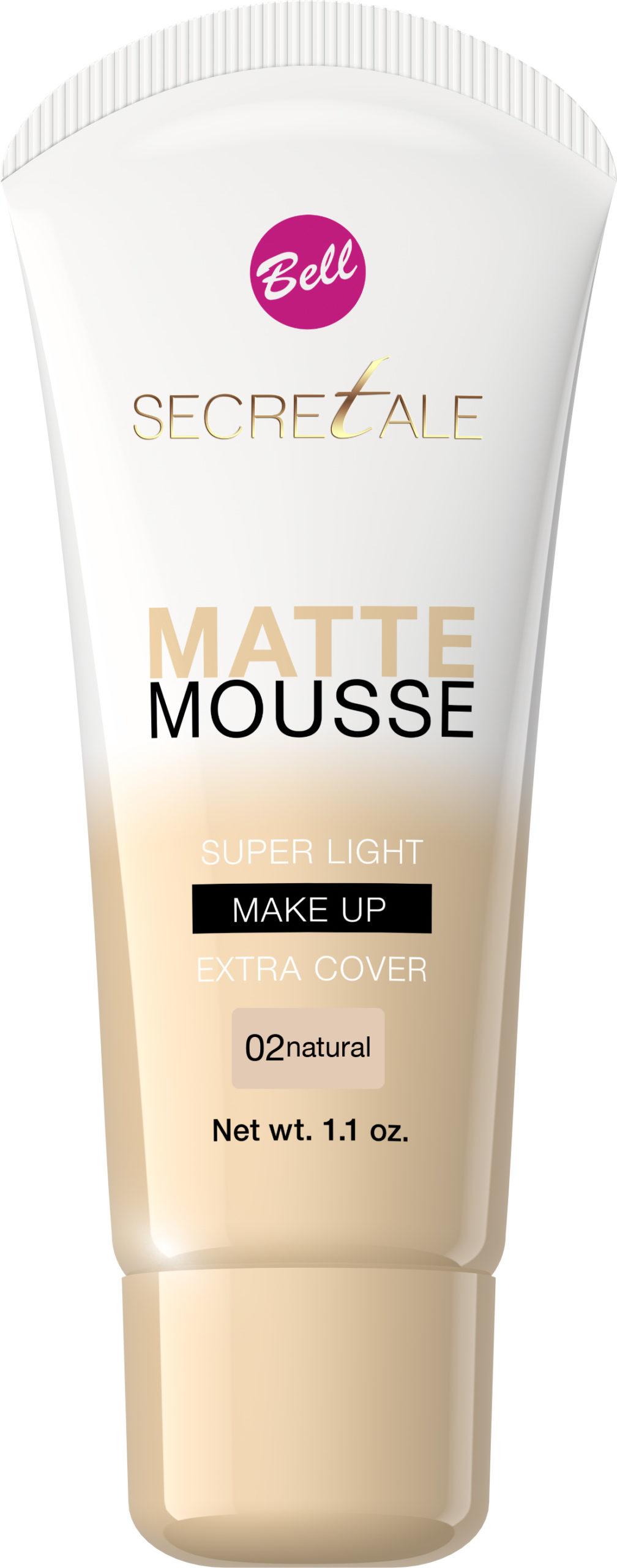 Secretale Matte Mousse Make-up