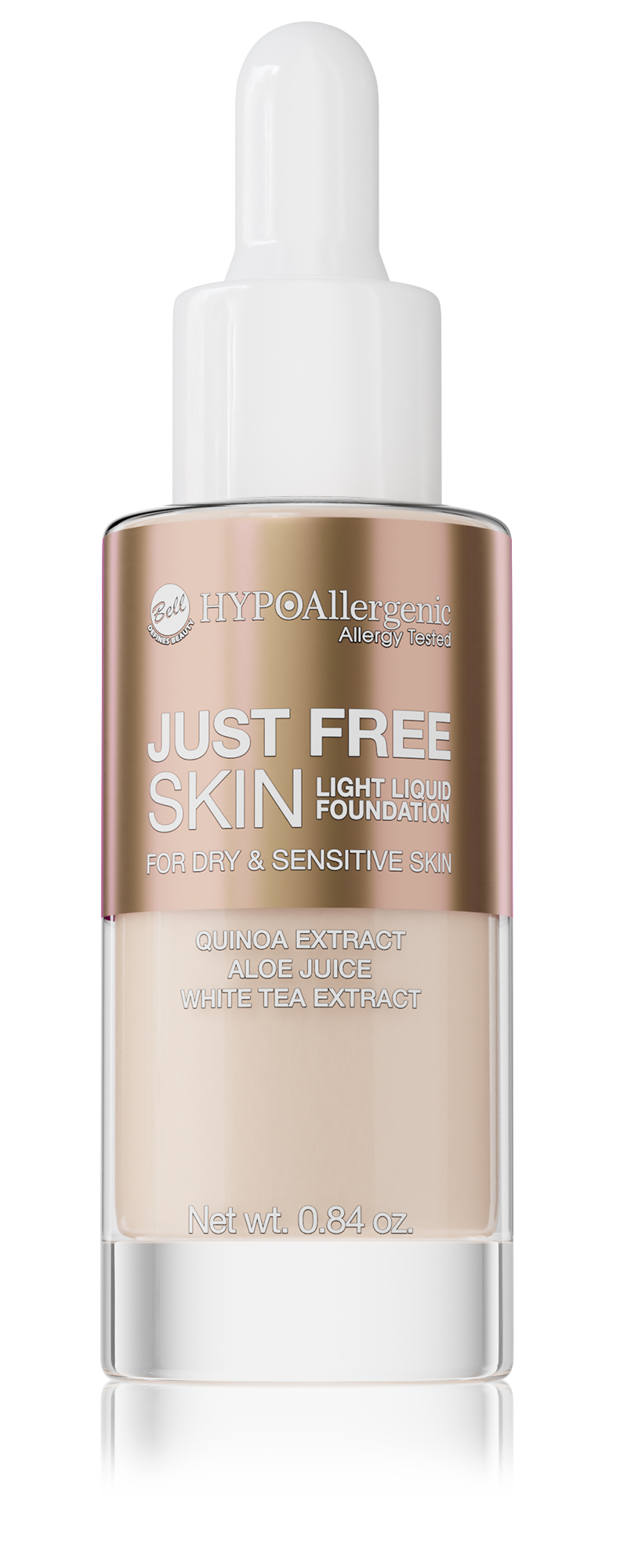 HYPOAllergenic Just Free Skin Light Liquid Foundation