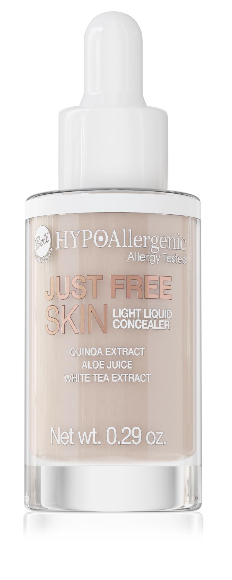 HYPOAllergenic Just Free Skin Light Liquid Concealer
