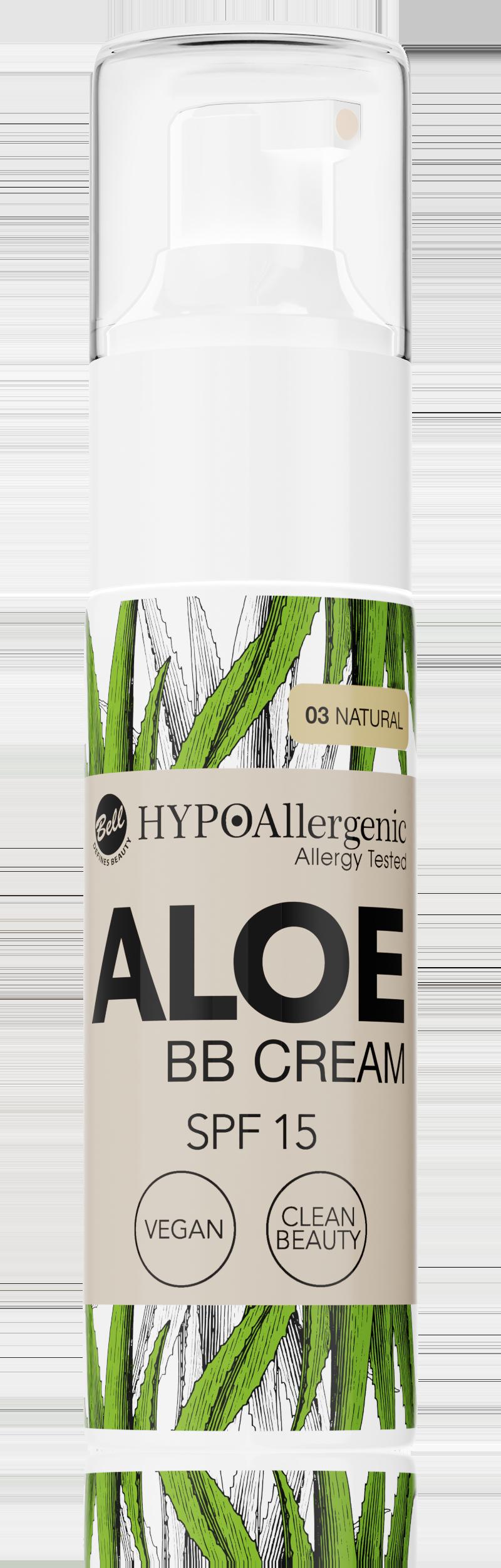 HYPOAllergenic Aloe BB Cream SPF 15