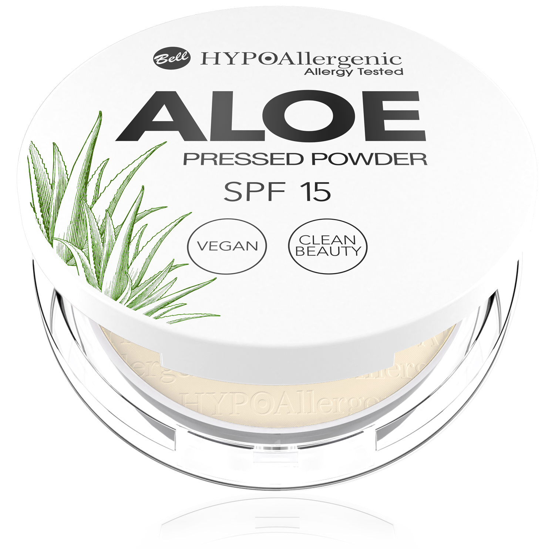 HYPOAllergenic Aloe Pressed Powder SPF 15